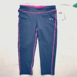 NWT Capri leggings Kari Traa Sportswear tights